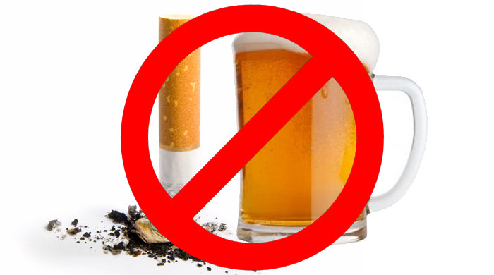Say No to smoking & drinking