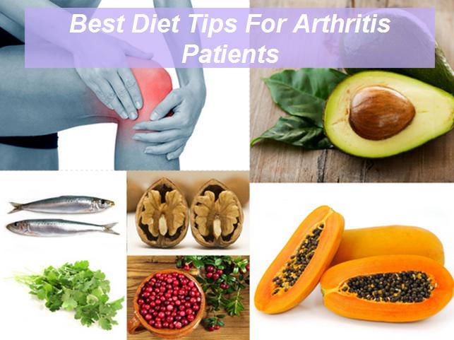 Diet For Arthritis Patients