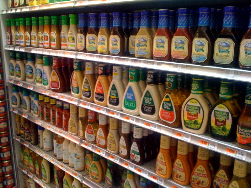 Bottled Salad Dressing