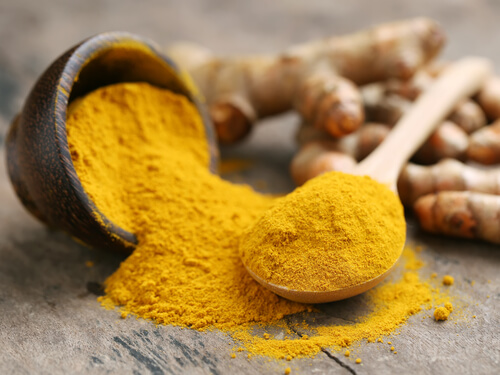 Turmeric purifies Blood